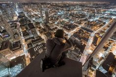Tonight, this is your city by Roof Topper, via 500px (which city? is this #Toronto??)