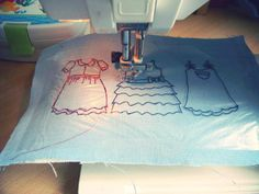 Guest blogger: Freehand machine embroidery on regular sewing machine