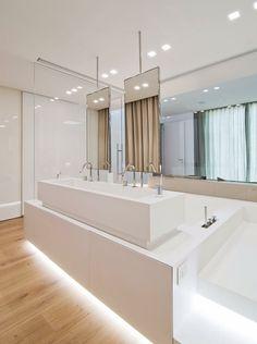 suite parentale et salle de bain par Stimamiglio