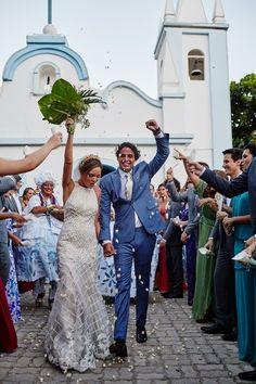 Chuva de arroz - Destination Wedding