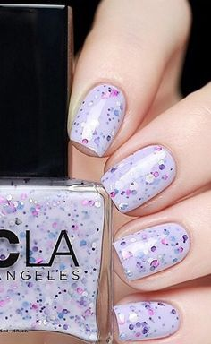 Let Them Eat Cake, nail lacquer, glitter nail lacquer