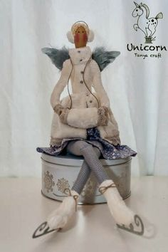 Mimin Dolls: Tilda do inverno - Tutorial e moldes no blog