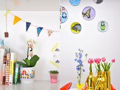 kleur en bloemen! <3
