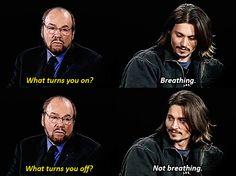 TV / Comedy   ..  Johnny Depp  ... Inside the Actors Studio