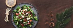 Superfood your Christmas: Avocado-Chia-Salat Protein Salat, Protein Foods, Tempeh, Superfood, Sin Gluten, Nutrition, Gnocchi, Mozzarella, Paleo