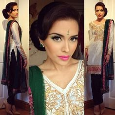 Bambi Bains @bambi_official Instagram photos | Websta (Webstagram) Indian Suits, Punjabi Suits, Indian Dresses, Bambi, Indian Fashion, Womens Fashion, Suits 2016, Desi, Saree