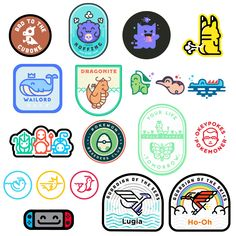 Going through a rough patch of depression. Doc told me to share something I made today, aka farm karma. Here are a collection of my Pokémon patches so far. Pokemon Patch, Poke Pokemon, Pokemon 20, Pokemon Games, Mega Lucario, Ghost Type, Design Comics, Lugia, Avengers Wallpaper