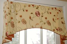 Custom Door Valance designed and custom made by Doshie