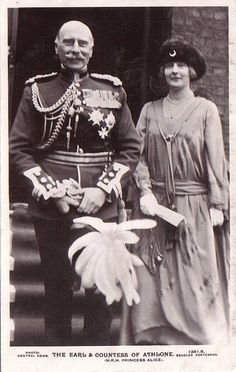 Prinz Alexander und Prinzessin Alice von Teck, Earl and COuntess of Athlone