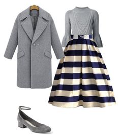 """""""Fall meetings"""" by crystal-a-brooks on Polyvore featuring Carolina Herrera, Chicwish, Gap and Lucky Brand"""