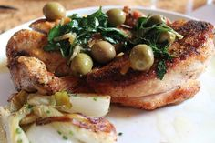 Chicken Recipe of the Day: Roasted Chicken with Preserved Lemons and Manzanilla Olives - Foodista.com