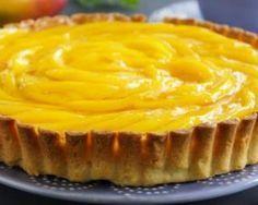 Tarte légère mangue-citron : http://www.fourchette-et-bikini.fr/recettes/recettes-minceur/tarte-legere-mangue-citron.html