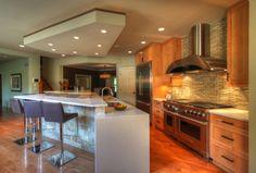 Modern Kitchen & Work Suite contemporary kitchen