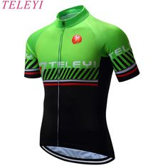 teleyi 2017 Bike Cycling Clothing Cycle Cycling Jersey/Breathable Mountain Bicycle Sportswear Roupa Ciclismo
