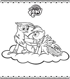 mlp printable coloring pages | Applejack My Little Pony Coloring Pages