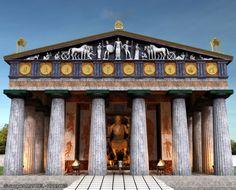 Temple of Zeus - Olympia