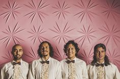 Punk, cumbia, new wave, reggae -- there's a legion of Latino bands from Los Angeles that are borrowing rhythms from all over the globe and making them their own. Here are 11 essential LA bands you should check out.  La Chamba Cumbia Chicha  Photo Credit: The Get Down Collective / Facebook   They ca...