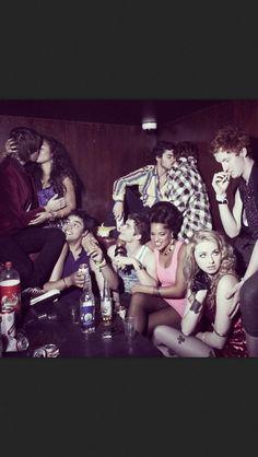 Group 3 Skins UK: Rich, Grace, Nick, Alex, Liv, Franky, Matty, Alo, and Mini