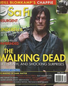 Sci Fi magazine with The Walking Dead