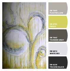 Art by Tia Marie McDermid - Paint colors from Chip It! by Sherwin-Williams