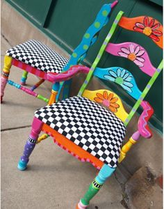 A sweet seat- not feeling 'sweet' the child sits in the chair so they can feel sweet again.