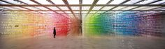 An Immersive Forest of 60,000 Rainbow Numbers by Emmanuelle Moureaux | Colossal