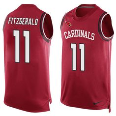 Nike Larry Fitzgerald Limited Red Men's Jersey - NFL Arizona Cardinals #11 Player Name & Number Tank Top