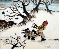 _ARCH_ Plaisirs d'hiver par Normand Hudon - Galerie Lamoureux Ritzenhoff