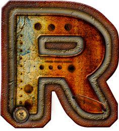 CH.B *✿* Alfabeto metal oxido..R