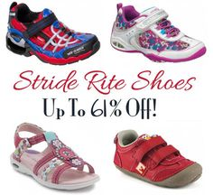 HOT Stride Rite Shoes Sale - Up to 61% Off!!