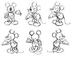 Mickey  Mouse - Model Sheet