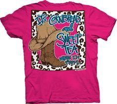 Cornbread and sweet tea Southern Belle Shirts, Southern Belle Style, Southern Comfort, Simply Southern, Country Outfits, Country Girls, Sweet Cornbread, Cute Tshirts, Sweet Tea