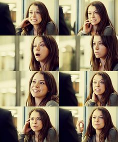 Tatiana Maslany in Orphan Black. Still surprised she's not actually English. She is hot though. #Canadian #Actress