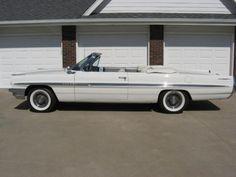 1961 Pontiac Bonneville Convertible ~ Perhaps a Super Duty model?