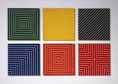 minimalismo pintura frank stella - Buscar con Google