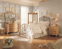 Some Of It Vintage Bett Gold Bedroom Décor Ideas Modern