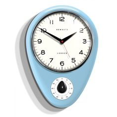 The Discovery Kitchen Timer And Clock. Keeping time never looked so stylish with this chic wall clock. A perfect marriage of apparatus for the kitchen or worksh Home Design, Küchen Design, Wall Clocks Uk, Red Clock, Wall Watch, White Clocks, Timer Clock, Kitchen Wall Clocks, Retro Diner