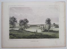 Lightning Lake MN USPRR 1860 USPRR RR Railroad Survey Print #Realism