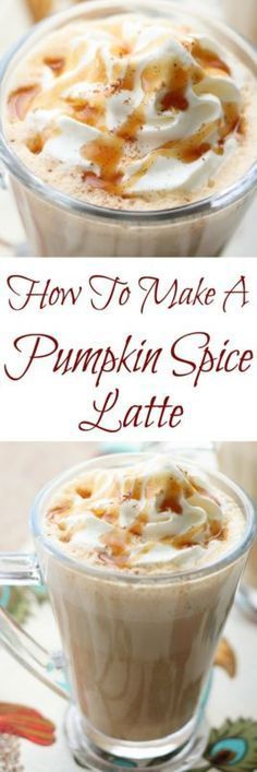 Is there anything that gets people more excited this time of year than the arrival of holiday coffee drinks in the coffee shops and cafes? Now that pumpkin recipes abound all around me, I couldn't resist...