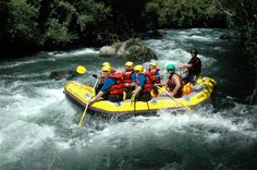 Rafting at Rangitaiki River which is situated half way between Rotorua and Taupo, at Murupara www.raftabout.co.nz