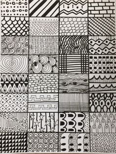 what patterns can you make with lines?