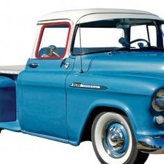 """1955-2-1959 Chevy/GMC """"One-Piece"""" Door Glass, Left Or Right"""