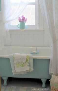 turquoise tub