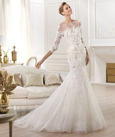 Elie Saab � Wedding Gowns 2014 Lace Mermaid Dress... it's just gorgeous