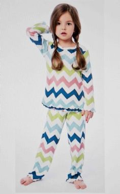 Sara's Prints Chevron Pajamas