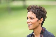 The pixie is one of the hottest hairstyles of the moment. See which cuts are most popular and which face shapes and hair textures work with a pixie.: Halle Berry Pixie Hair