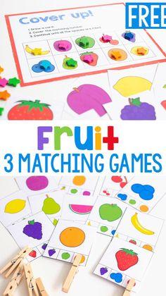 Preschool Food, Preschool Learning Activities, Free Preschool, Preschool Activities, Preschool Kindergarten, Healthy Crafts For Preschool, Learning Games, Infant Activities, Food Groups For Kids