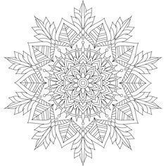 This is Winter Soul, one of over 100 printable mandalas for you to color. :) https://mondaymandala.com/m/winter-soul?utm_campaign=sendible-pinterest&utm_medium=social&utm_source=pinterest&utm_content=winter-soul