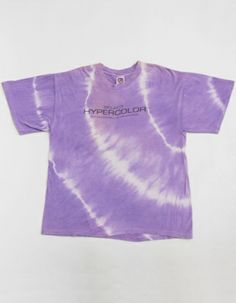 hypercolor shirts | ... 90s Select HYPERCOLOR Metamorphic Color System TIE DYE T-Shirt XL E2