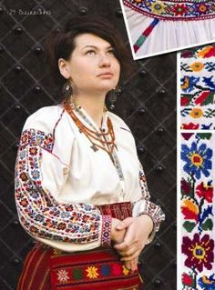 Here are some great patterns for embroidered blouses for sophisticated ladies